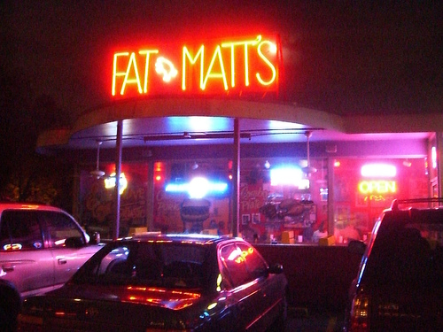 #1 Fat Matt's Rib Shack