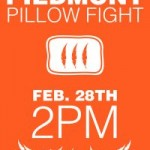 #14 – Pillow Fight TODAY in Piedmont Park – B.Y.O.P. (Pillow, that is!)