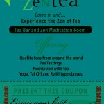 #40 – Zen Tea in Chamblee – Tea Bar and Meditation Room, Yoga, Tai Chi and More -Plus a Coupon for a FREE TEA!