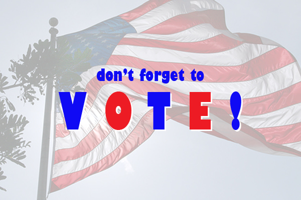 "#275 – Today's ""Thing To Do""? A No-Brainer – Get Out and Vote…and Win a Prize For It! Tuesday, November 2, 2010"