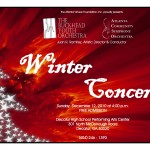 #319 – Celebrate the Season with a FREE Winter Concert Today: Atlanta Community Symphony Orchestra & Buckhead Youth Orchestra, Winter Concert – Sunday, December 12, 2010