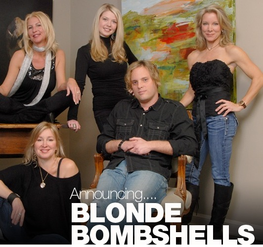 The Blonde Bombshells Invade Huff Harrington Fine Art, March 18 through April 2, 2011 – Opening Party Friday, March 18