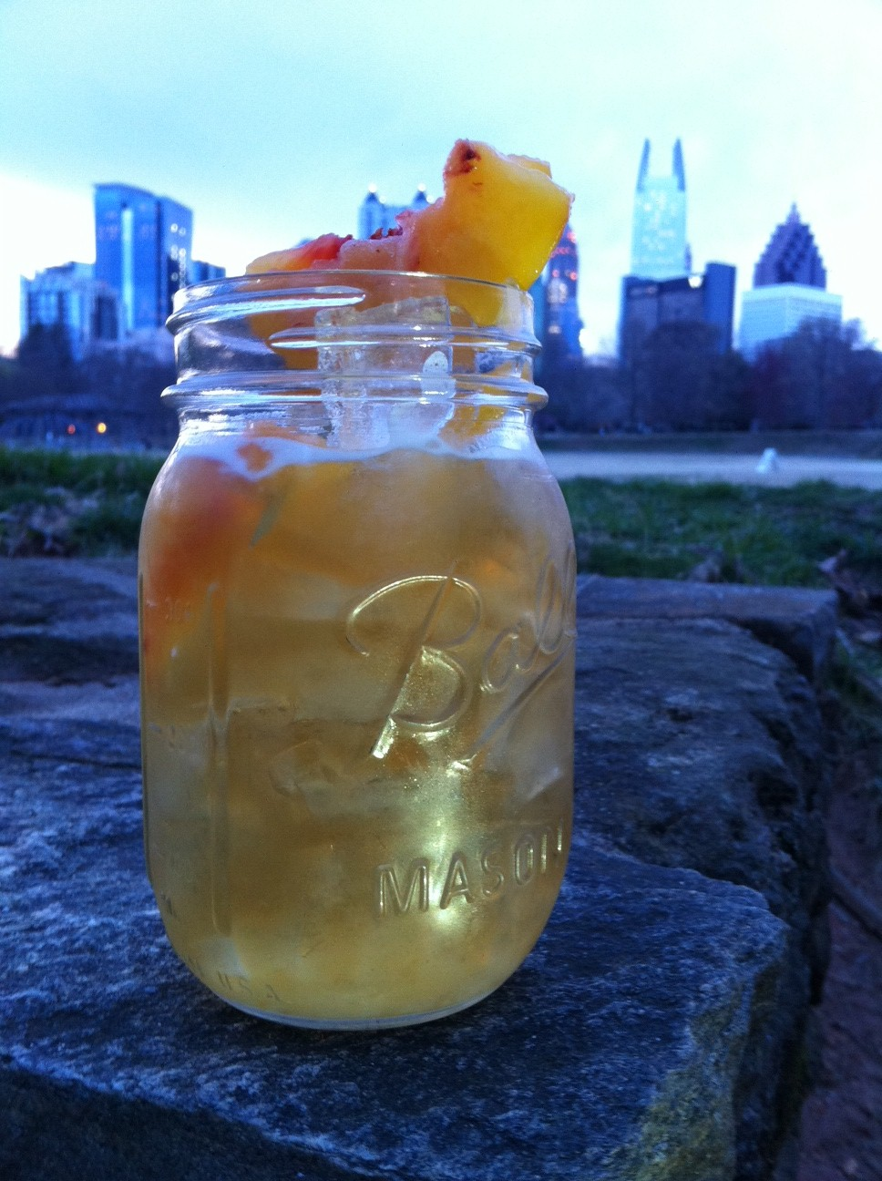 Our Libatious Nature Created a Signature Cocktail for our Blog-Birthday! Here It Is: Maura's March on Atlanta – Enjoy!