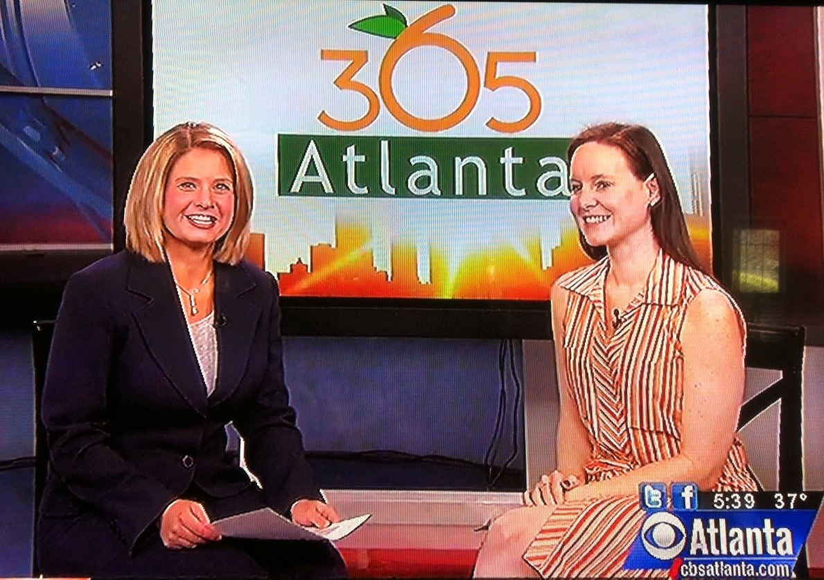In Case You Missed It…Here's Our CBS Better Mornings Atlanta Segment from Yesterday! Tuesday, April 5, 2011