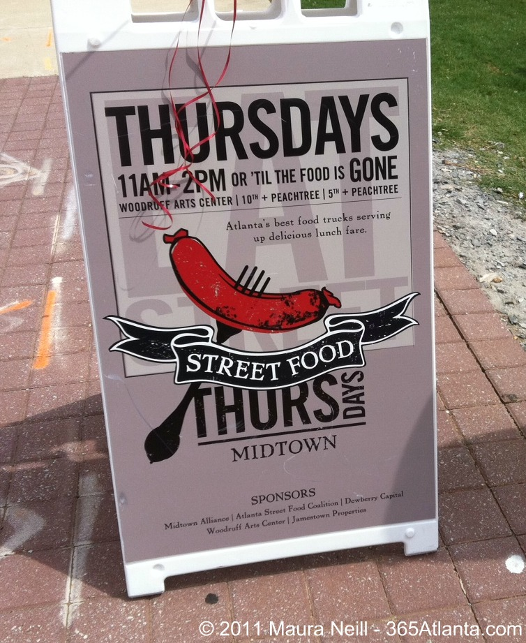 Street Food Thursdays in Midtown Atlanta – Come See What All the Buzz is About