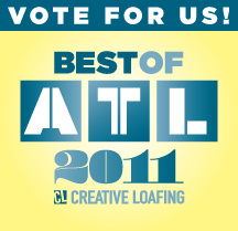 Please Vote for 365Atlanta as Your Favorite Local Blog / Blogger in Creative Loafing Atlanta – Vote By August 1, 2011