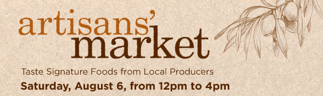 Support Local Georgia Artisans at Williams Sonoma Artisans' Market – Saturday, August 5, 2011