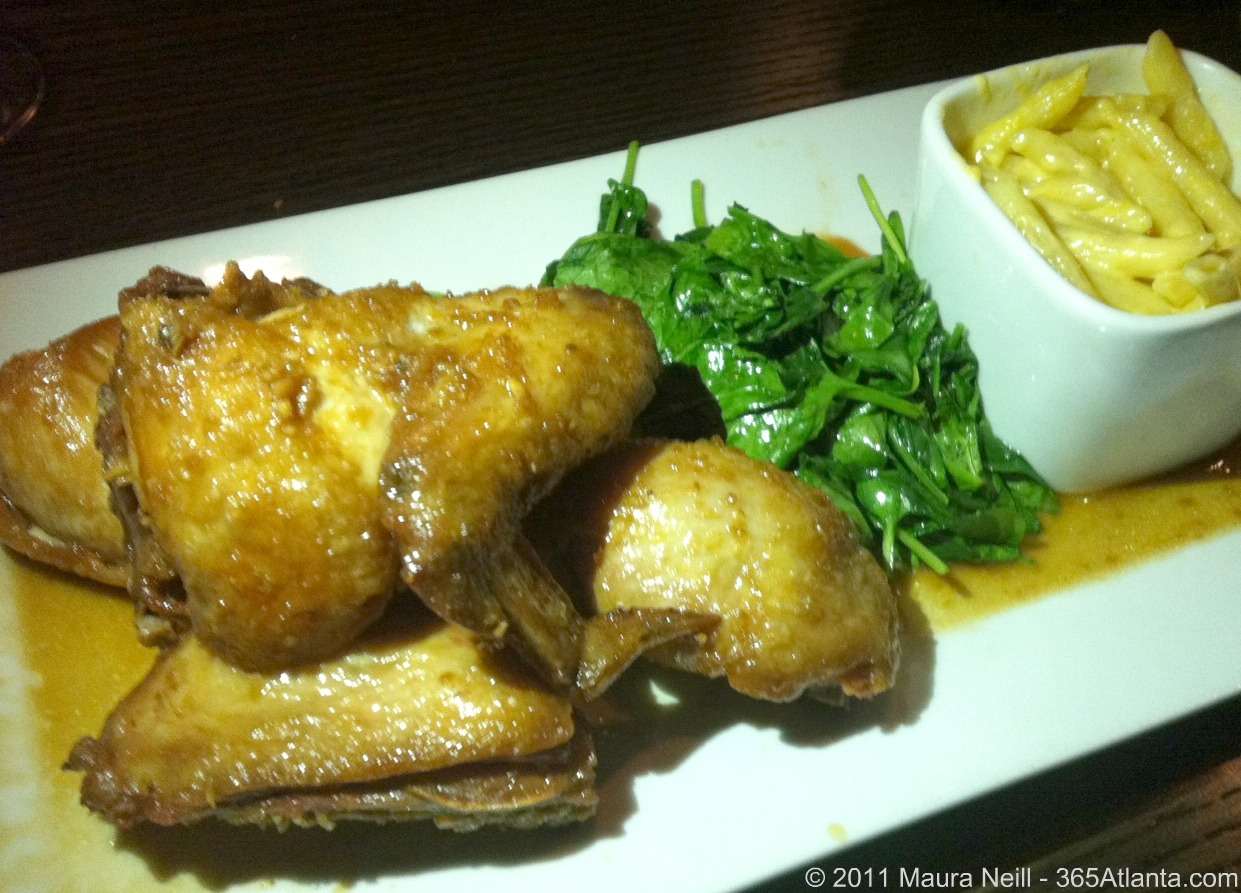 truffles-grill-3345-lenox-road-atlanta-ga-crispy-chicken-truffled_mac_and_cheese-wilted_spinach-2