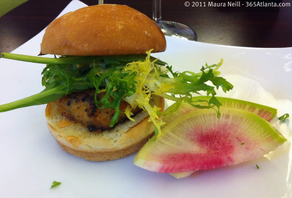 hotel-indigo-683-peachtree-street-ne-atlanta-ga-midtown-georgia-shrimp-slider-watermelon-radish