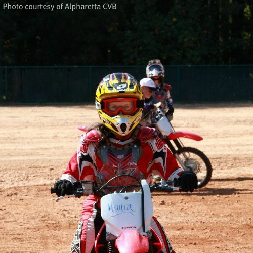 Learn to Ride at the Honda Motorcycle Safety Foundation Campus in Alpharetta, Georgia
