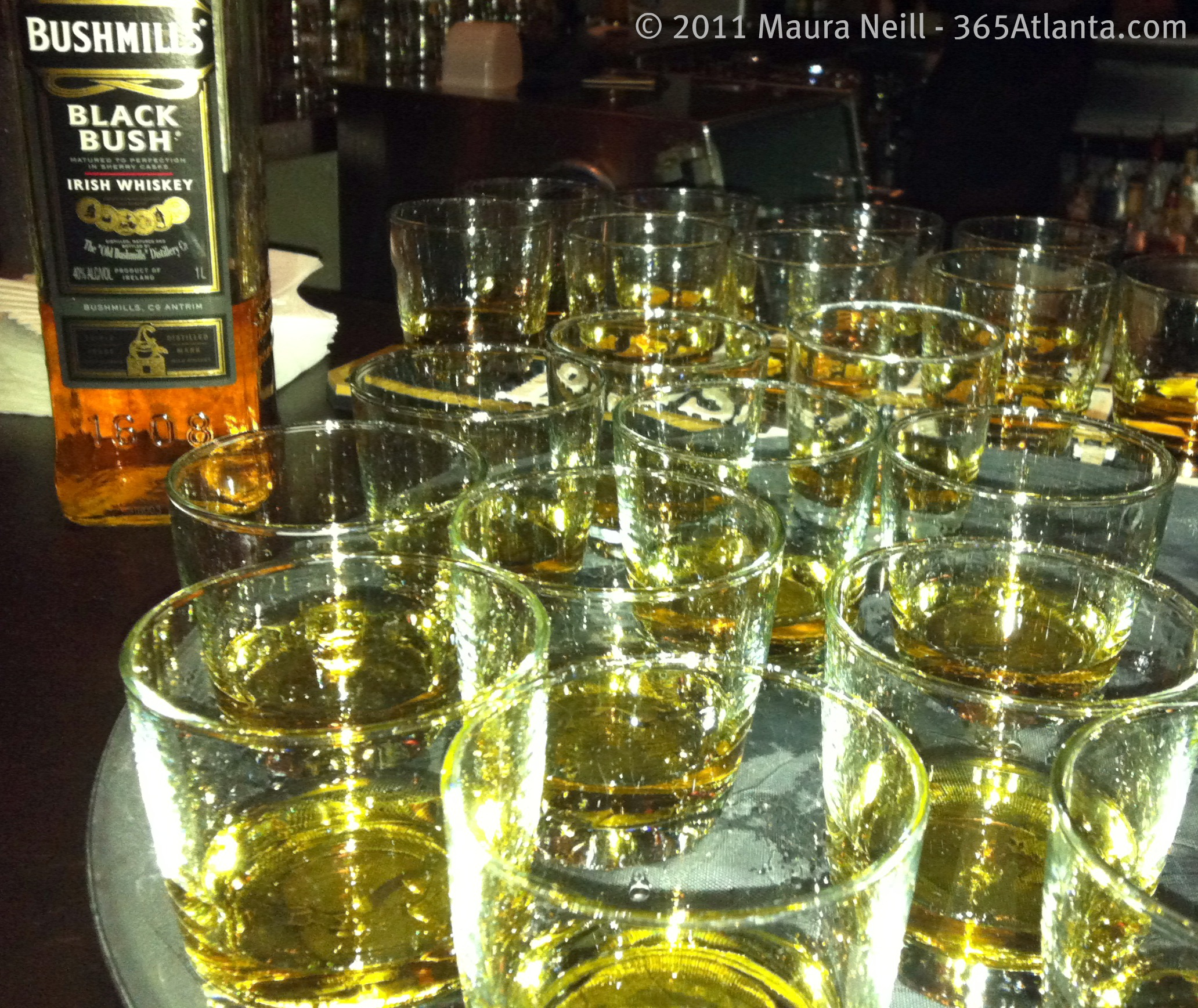 Whiskey Lovers, Celebrate St. Paddy's Day Early with a Bushmills Whiskey Dinner at Fadó Tonight! Tuesday, March 13, 2012