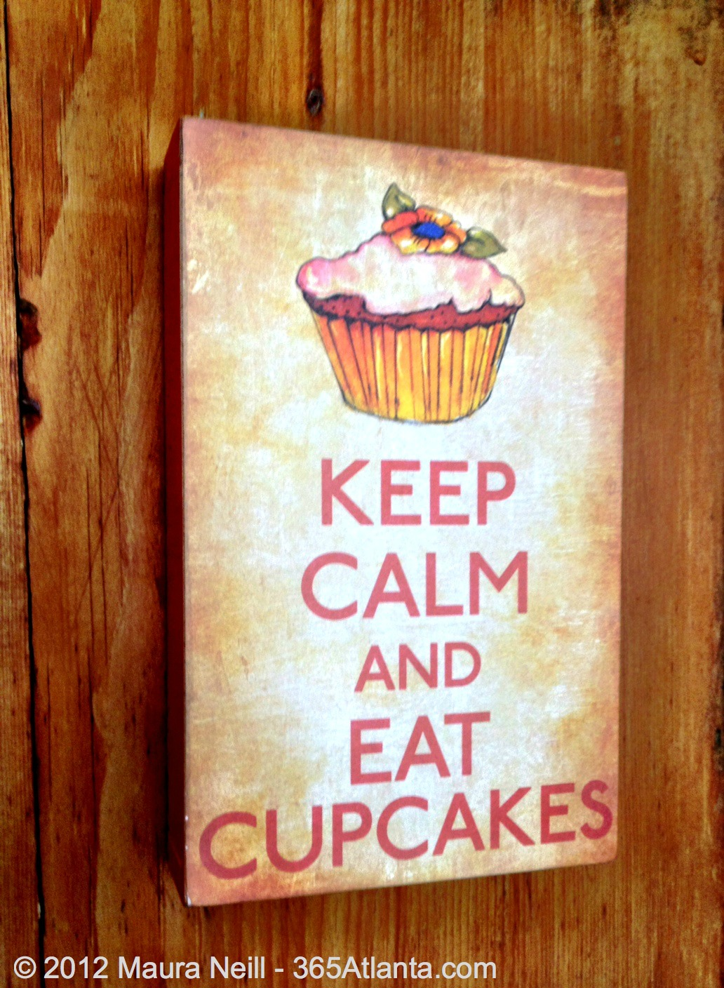 Eat Cupcakes Keep Calm And Pinterest Cupcake